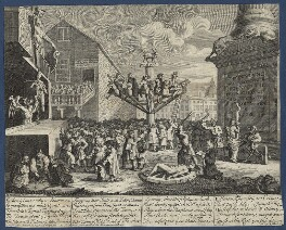'The South Sea Scheme', by William Hogarth, circa 1721 - NPG D21368 - © National Portrait Gallery, London
