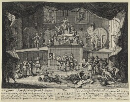 'The Lottery', by William Hogarth - NPG D21369