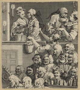 'The Laughing Audience (or A Pleased Audience)', by William Hogarth - NPG D21374