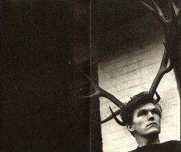 David Ball, by Angus McBean, 1954 - NPG x39321 - © estate of Angus McBean / National Portrait Gallery, London