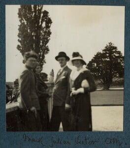 Mark Gertler; Julian Vinogradoff (née Morrell); Sir Victor Martin Reeves Goodman; Lady Ottoline Morrell, possibly by Philip Edward Morrell - NPG Ax143423
