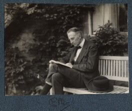 Philip Edward Morrell, by Lady Ottoline Morrell - NPG Ax143433