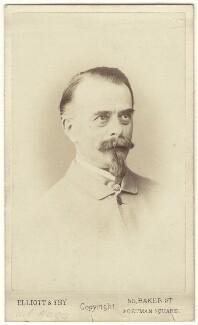 (Johann) Carl Haag, by Elliott & Fry - NPG Ax17283