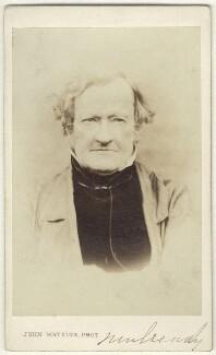 William Mulready, by John Watkins - NPG Ax17291
