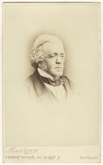 William Makepeace Thackeray, by Herbert Watkins - NPG Ax17293