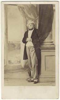 William Makepeace Thackeray, by Caldesi, Blanford & Co, early 1860s - NPG Ax17294 - © National Portrait Gallery, London