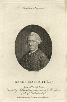 Israel Mauduit, by Thomas Holloway, after  Mason Chamberlin - NPG D21378