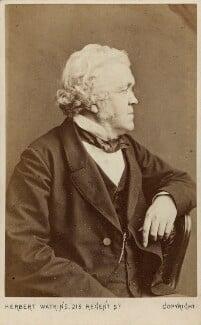 William Makepeace Thackeray, by (George) Herbert Watkins, 1860-1863 - NPG Ax7513 - © National Portrait Gallery, London