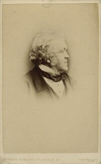 William Makepeace Thackeray, by (George) Herbert Watkins, 1860-1863 - NPG x12964 - © National Portrait Gallery, London