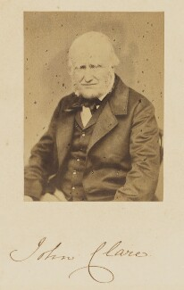 John Clare, by W.W. Law - NPG P1101