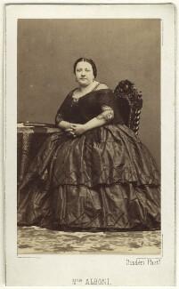 Marietta Alboni, Countess Pepoli (née Maria Anna Marzia), by Disdéri, 1860s - NPG Ax25020 - © National Portrait Gallery, London