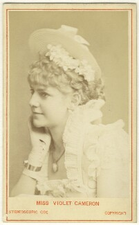Violet Cameron (Violet Lydia Thompson), by London Stereoscopic & Photographic Company - NPG Ax25026