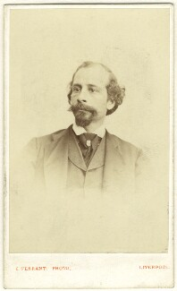 Unknown man formerly called Allan James Foli (Allan James Foley), by Caesar Z. de Ferranti - NPG Ax25032