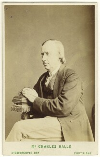Sir Charles Hallé (né Carl Halle), by London Stereoscopic & Photographic Company - NPG Ax25038