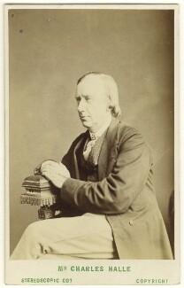 Sir Charles Hallé (né Carl Halle), by London Stereoscopic & Photographic Company, circa 1873 - NPG Ax25038 - © National Portrait Gallery, London