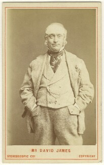 David James as Perkyn Middlewick in 'Our Boys', by London Stereoscopic & Photographic Company - NPG Ax25039