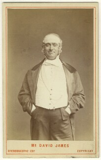 David James as Perkyn Middlewick in 'Our Boys', by London Stereoscopic & Photographic Company - NPG Ax25040