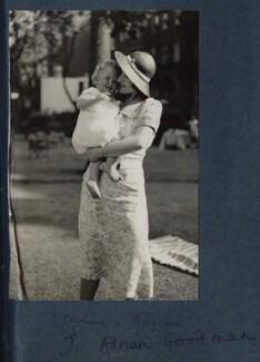Adrian Martin Goodman; Julian Vinogradoff (née Morrell), by Lady Ottoline Morrell - NPG Ax143660