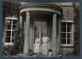 Hester Sassoon (née Gatty); Siegfried Sassoon, by Lady Ottoline Morrell - NPG Ax143664
