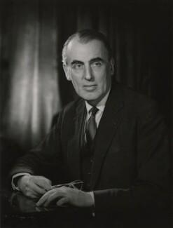 Sir John Newenham Summerson, by Walter Bird - NPG x165794