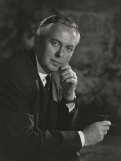 Harold Wilson, by Walter Bird - NPG x45598
