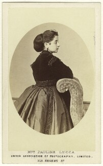 Pauline Lucca, by United Association of Photography Limited - NPG Ax25051