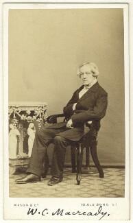 William Charles Macready, by Mason & Co (Robert Hindry Mason) - NPG Ax25053