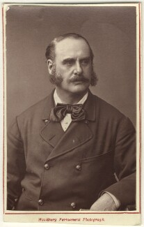 James Henry Mapleson, by Lock & Whitfield, 1870s - NPG  - © National Portrait Gallery, London