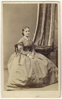 Adelina Patti, by Horatio Nelson King, 1862 - NPG Ax25074 - © National Portrait Gallery, London