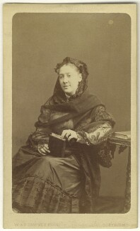 Madge Kendal, by W. & D. Downey, 1870s - NPG Ax25080 - © National Portrait Gallery, London