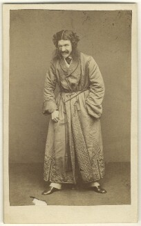 Edward Askew Sothern as Lord Dundreary in 'Our American Cousin', by Alexander Bassano - NPG Ax25091