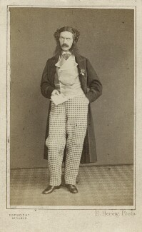 Edward Askew Sothern as Lord Dundreary in 'Our American Cousin', by Henry Hering - NPG Ax25092