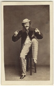 Edward Askew Sothern as Lord Dundreary in 'Our American Cousin', by Alexander Bassano, 1862 - NPG Ax25093 - © National Portrait Gallery, London