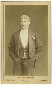Thomas Thorne as Talbot Champneys in 'Our Boys', by London Stereoscopic & Photographic Company - NPG Ax25096