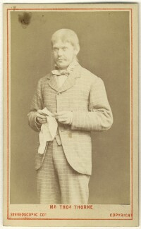 Thomas Thorne as Talbot Champneys in 'Our Boys', by London Stereoscopic & Photographic Company - NPG Ax25097