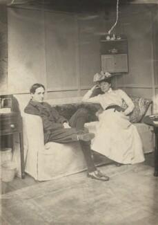Harley Granville-Barker; Charlotte Shaw (née Payne-Townshend), by George Bernard Shaw - NPG x128075