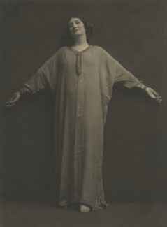 Lillah McCarthy as Viola in 'Twelfth Night', by Malcolm Arbuthnot - NPG x128113