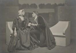 Lillah McCarthy; Sir Godfrey Seymour Tearle in 'The Sentimentalists', by Emil Otto ('E.O.') Hoppé, 1910 - NPG x128123 - © 2017 E.O. Hoppé Estate Collection / Curatorial Assistance Inc.