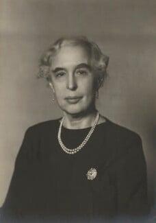 Lady (Helen) Cynthia Colville (née Crewe-Milnes), by Walter Stoneman - NPG x165810