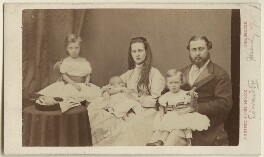 King Edward VII and his family, by James Russell & Sons, July 1867 - NPG Ax24163 - © National Portrait Gallery, London