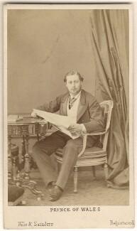 King Edward VII, by Hills & Saunders - NPG Ax24164