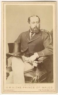 King Edward VII, by Alexander Bassano - NPG Ax24168