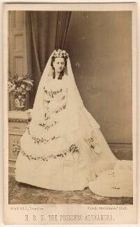 Queen Alexandra, by John Jabez Edwin Mayall - NPG Ax24175
