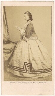 Queen Alexandra, by Ghémar Frères, 9 September 1862 - NPG Ax24177 - © National Portrait Gallery, London