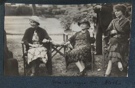 Dilys Powell and two others, by Lady Ottoline Morrell - NPG Ax143676