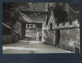 Lady Ottoline Morrell ('A village near Bristol'), by Philip Edward Morrell - NPG Ax143683