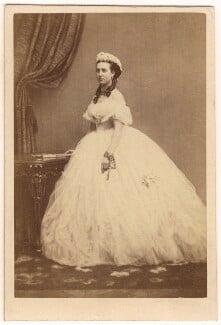 Queen Alexandra, by E. Lange, circa 1860 - NPG Ax24180 - © National Portrait Gallery, London