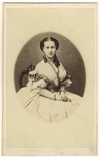 Queen Alexandra, by Georg Emil Hansen - NPG Ax24183