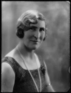 Janet Margaret (née Roberts), Lady Sandeman Allen, by Bassano Ltd - NPG x124445