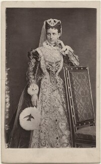 Queen Alexandra as Mary, Queen of Scots, by A.J. (Arthur James) Melhuish - NPG x23491